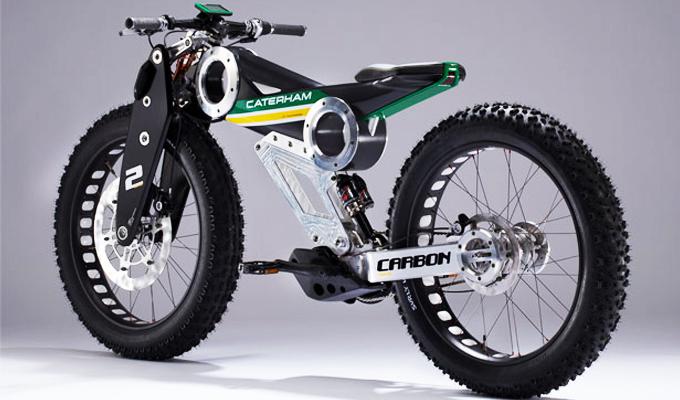 Los frenos y las suspensiones de una bicicleta eléctrica btt
