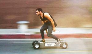 Potencia y accionamiento de los E-skates