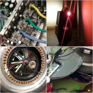 Soporte local Reparaciones mantenimiento garantías de un monociclo eléctrico