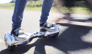 Velocidad y alcance de un hoverboard
