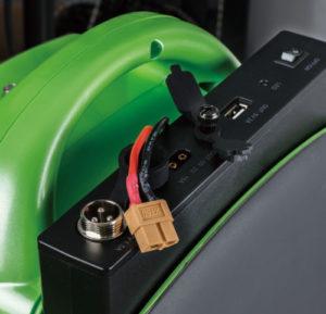 baterías de un monocilo eléctrico