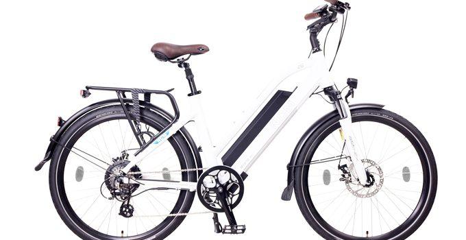 NCM Milano Una bicicleta eléctrica de Trekking